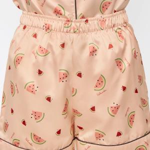 【GU】スイカ柄やアイスクリーム柄も!夏デザインのサテンパジャマ先取り!