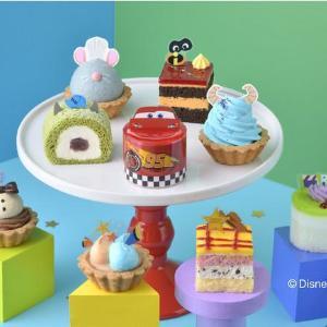 TDRじゃないよね!?ピクサーのプチケーキ可愛すぎ...コージーコーナー凄いよ!