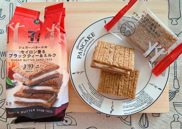 【セブン】リピ決定!紅茶香る「シュガーバターの木」がめっちゃおいしい。