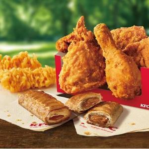KFCに最大650円もお得な「GWパック」!オリジナルチキンと新作パイ、一緒に楽しめるよ。