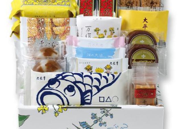 鯉のぼり柄パケ可愛くてほっこり。六花亭が「こどもの日通販おやつ屋さん」販売中