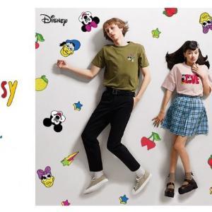 こんなミッキー見たことない! GUのディズニー新コレクションが個性的でオシャレ