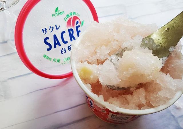 想像以上の「もも」が押し寄せる!この夏「サクレ白桃」は冷凍庫に常備したい。