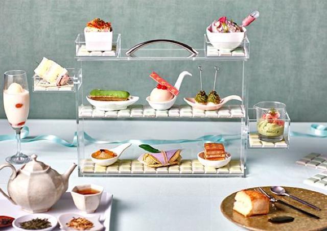 風味豊かな近江茶や近江野菜を使ったアフタヌーンティー