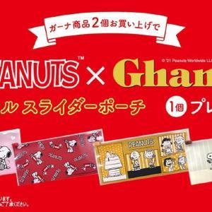 NewDaysで「スヌーピーポーチ」もらえる!ガーナ商品2個買ってゲットしよ。
