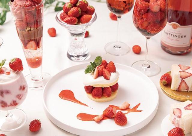 真っ赤な苺を贅沢に使用 星野リゾートトマムのスイーツフェア