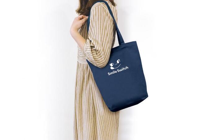 不二家でペコちゃんのトートバッグもらえる!色味もデザインも大人可愛い。