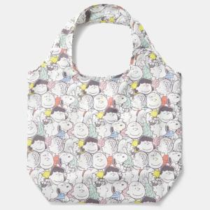 【スヌーピー】買わずにはいられない。GU×Peanutsの「エコバッグ」可愛いうえに使いやすさも抜群!