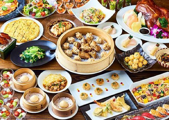 台湾料理が堪能できるランチビュッフェ