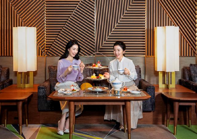 アフタヌーンティー付き、スイスホテル南海大阪の贅沢デイユースプラン
