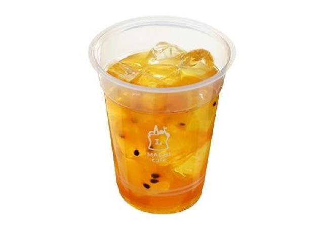 ローソン毎日通う案件。フルーツ入り「台湾アイスティー」がとても美味しそう。