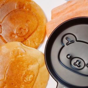 【すごい付録】リラックマのパンケーキお家でできる!専用パンで作ってみたよ。
