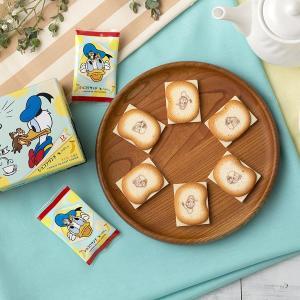 東京ばな奈×ディズニーにドナルド&チデが初登場!可愛いパッケージにメロメロ。