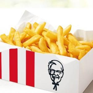 KFCの「ポテトBOX」が半額!7日間通うしかないよな。