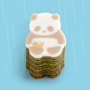 今だけの「雨ふりパンダバウム」かわいい~!トートセットもあるよ。