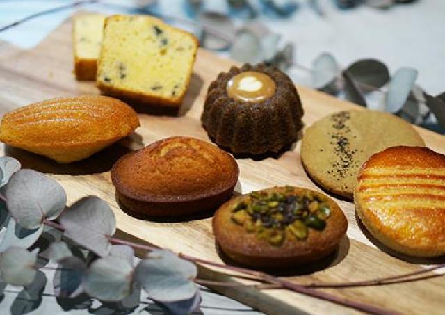 若手パティシエの新作焼き菓子が並ぶ「焼き菓子ギャラリー」