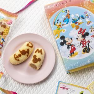 記念ポストカード付き!ミッキー&フレンズの東京ばな奈が可愛すぎる。