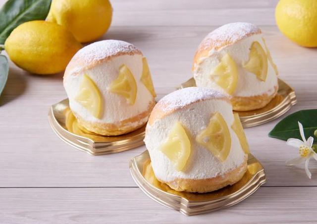 農薬を使わないレモンで作ったマリトッツォ