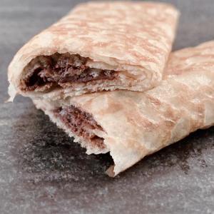 1個34円は信じられない!コストコのフランス産「チョコクレープ」おやつに最高だわ。