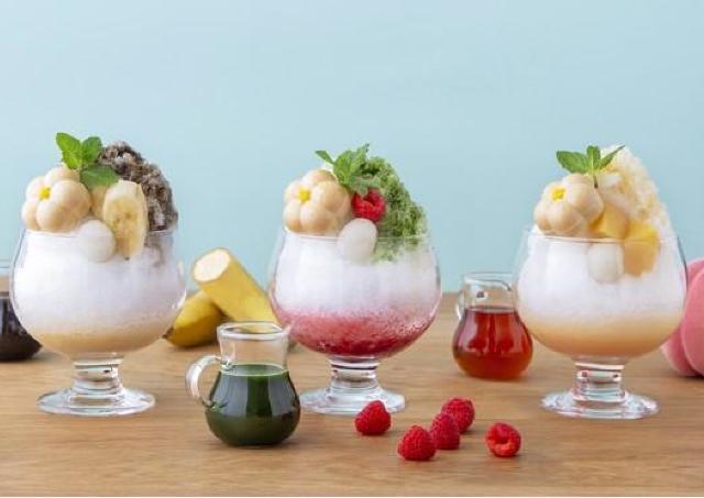 「茶寮FUKUCHA」にティラミスをイメージした特製かき氷