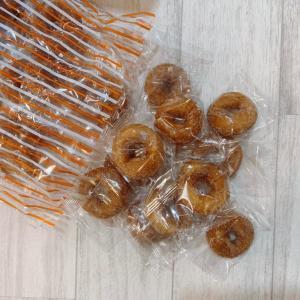 【朗報】業務スーパーで大量の「ヤングドーナツ」発見!個別包装でおやつにぴったり。