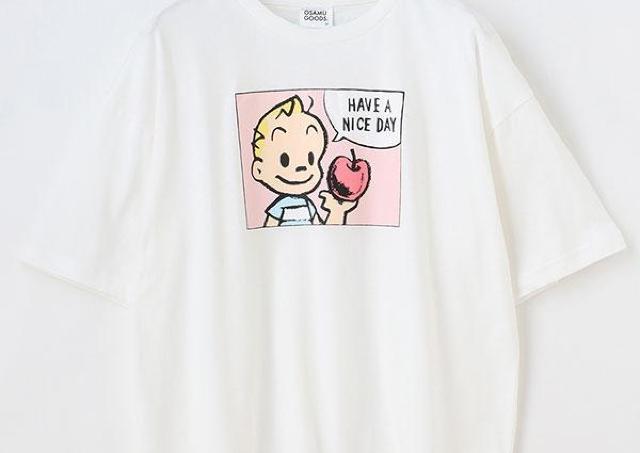 ハニーズに「オサムグッズ」Tシャツが登場!レトロ可愛いコーデが楽しめるよ~。