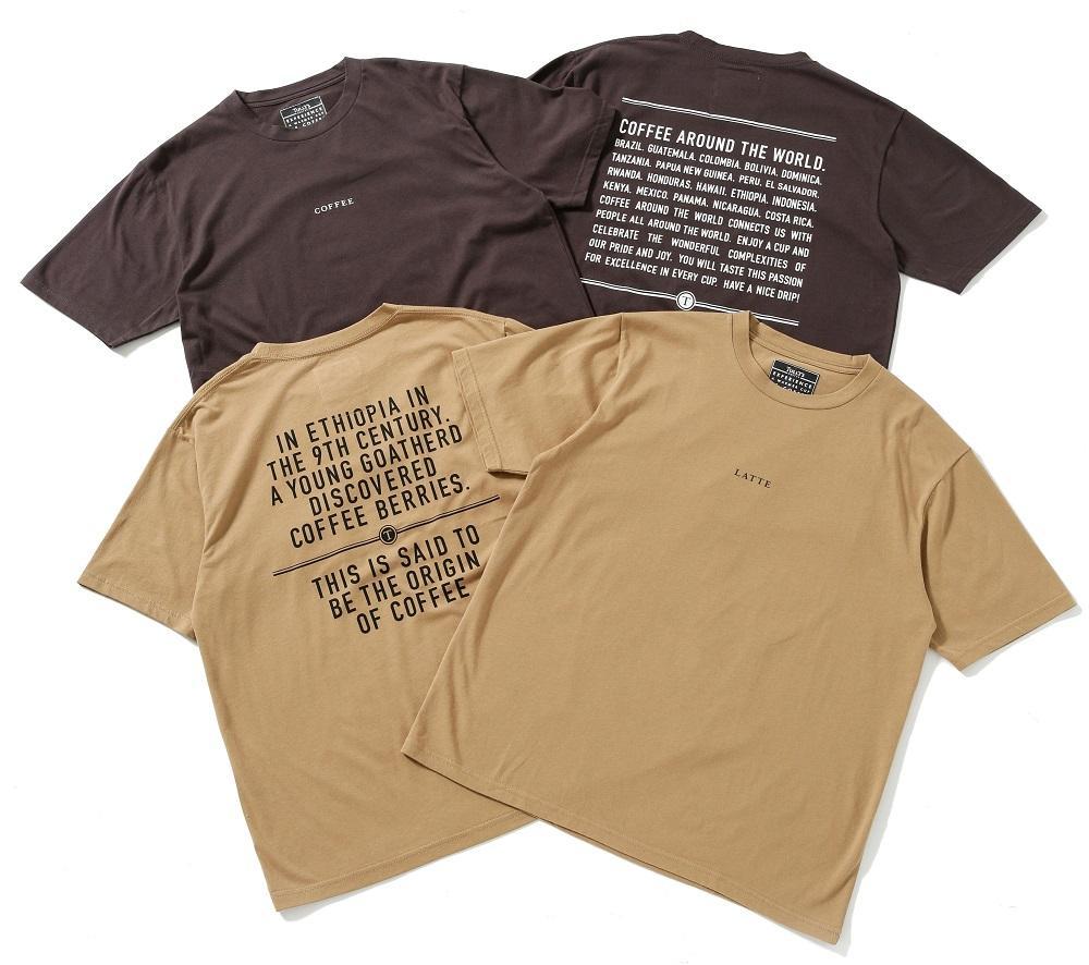 コーヒーで染めた「サスティナブルTシャツ」限定販売。タリーズとナノ・ユニバースがコラボ