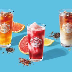 【スタバ】どれも美味しそう!今年の夏は新作ティービバレッジ飲みまくるぞ。