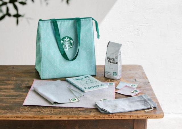 【スタバ】タンブラーやドリチケ入り!お得な「コーヒーグッズセット」WEBで抽選販売