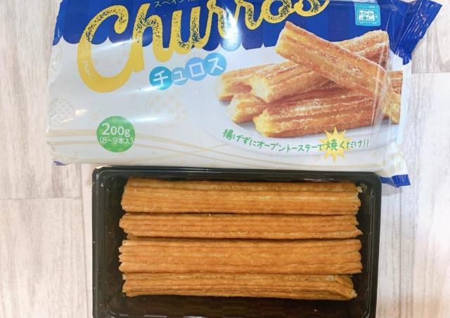 オーブントースターで焼くだけ!業スーの「チュロス」お手軽でうまい。