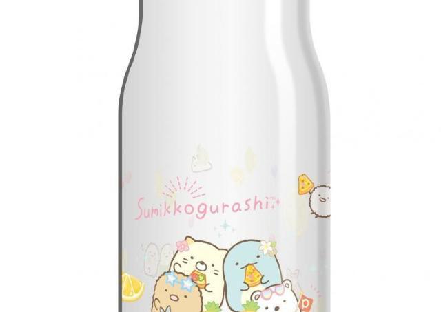 220円で「すみっコぐらし」のクリアボトルゲット!ピザーラの限定パックだよ。