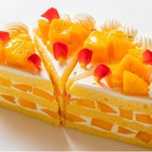 完熟宮崎マンゴーを使用した極上ケーキ