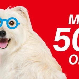 メガネやサングラスが最大50%オフ!「Zoff」の20周年セール、めっちゃお得じゃん。