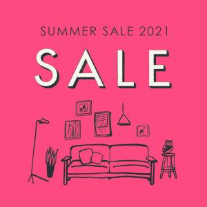 イデーで夏セール!家具・照明ディスプレイ品が最大半額!