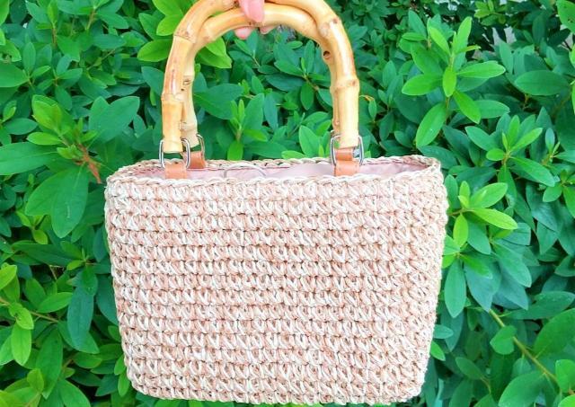 【しまむら戦利品】990円でいいの!?「雑材バッグ」がめっちゃ可愛い。最高。