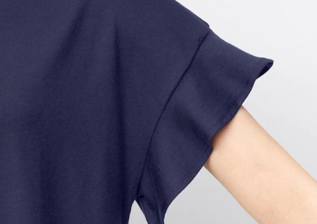 【GU】オンラインでは品切れ!二の腕カバーしてくれる「590円ワンピ」は買い!