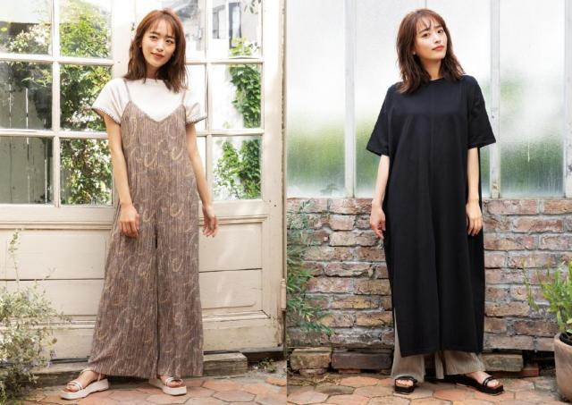 しまむらで「夏のゆったりコーデ」。近藤千尋さん着用アイテムが大人可愛い