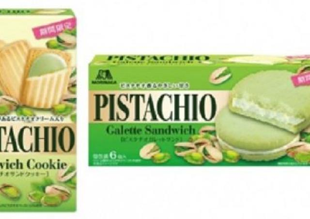 ピスタチオ党は森永さんに感謝すべき。4つのお菓子、どれも美味しそう!