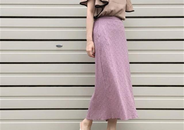 シワも目立たないし履き心地も楽!GUセールで買った「スカート」大正解でした。