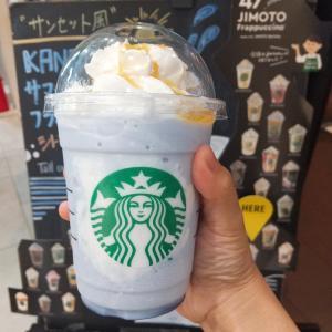【スタバ】きれいな青色にひかれてゲット。神奈川限定フラペは「ミルクが優しい逸品」