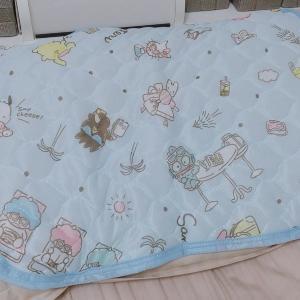 【激カワ】さっすがダイソー。サンリオの「冷感まくらパッド」が220円!