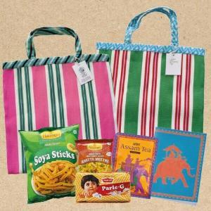 【可愛い】カルディに「インド製バッグ」が2種登場!どっちも欲しくて困る。
