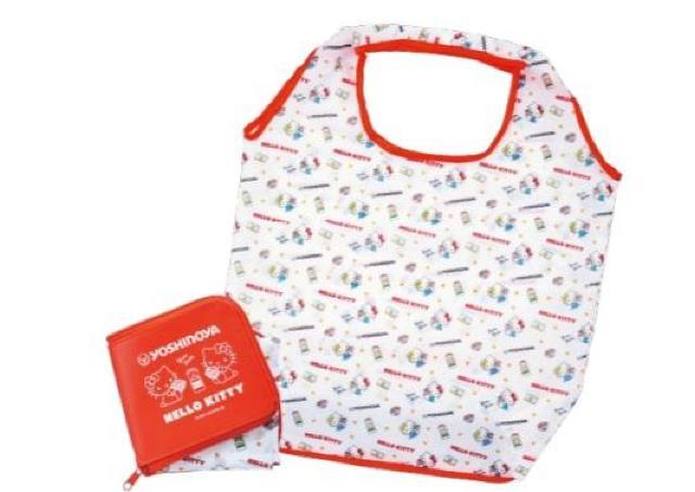 キティちゃんのエコバッグ付き!吉野家オンラインで「牛丼の具」セット買わなきゃ。