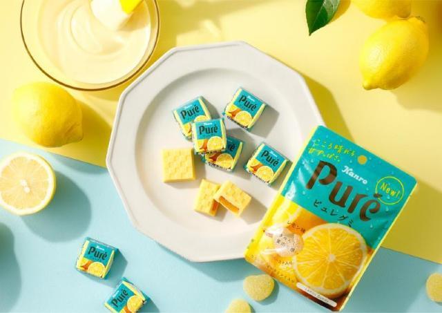 「シャリもち食感」のチロルチョコ!?ピュレグミレモンとコラボはイケてる。