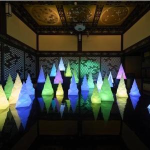 日本各地の様々なアートが集結「和のあかり×百段階段 2021」