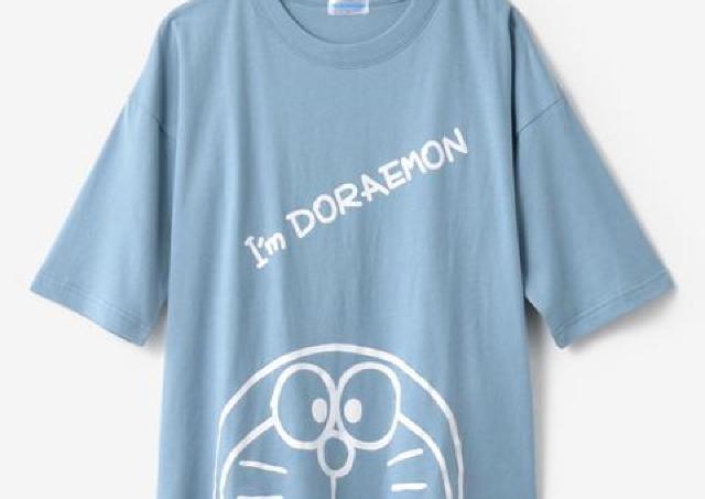 【しまむら】オンライン限定の「ドラえもん」Tシャツが可愛い!お揃いコーデにぴったり。