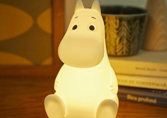 【ムーミン】ちょこんと座る姿が可愛い!!!インテリアにもなるライトだよ~。