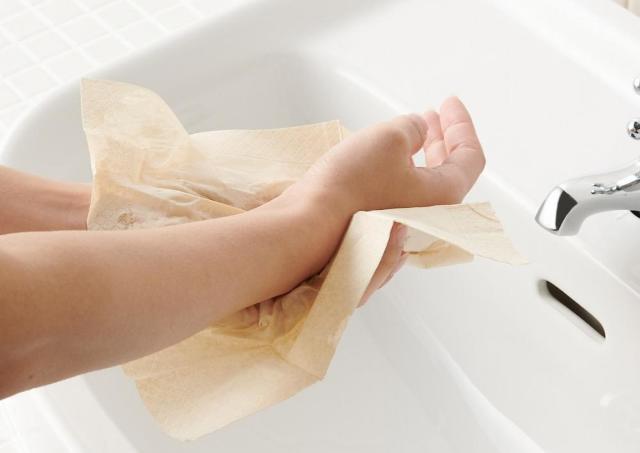 トイレ行くたびハンカチがびしょびしょ...その悩み「無印」のアイテムで解消できるよ。