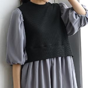 【しまむら】レイヤードスタイルが1枚で叶う。近藤千尋さん着用アイテムが大人気!