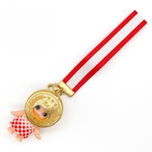 キューピーちゃんが金メダルに!可愛いなりきりチャームで日本選手を応援しよう。